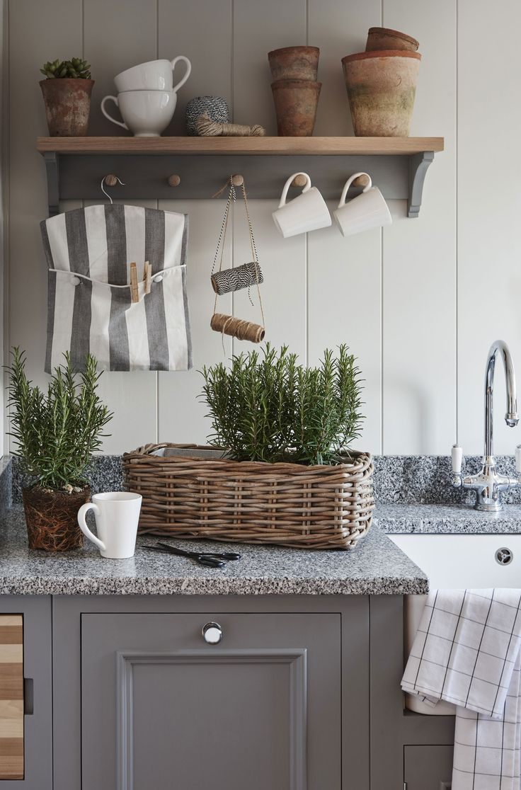 Our Suffolk coat rack, multi-purpose being used in the utility. #ShakerStyle #NeptuneHome
