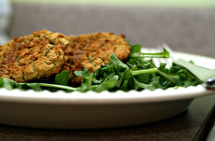 Chickpea & White Bean Patties Over Arugula by Fresh 365