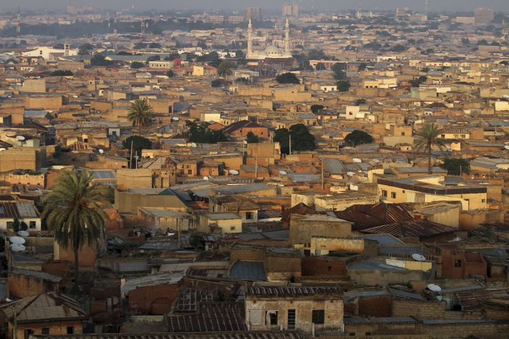 A view of the old city district in Nigeria's northern state of Kano - #OilBook #Nigeria #Africa