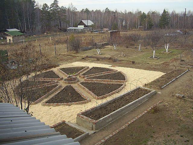 50 идей оформления Вашего сада и огорода.