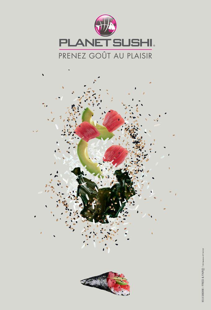 """Publicité Planet Sushi par """"Hello Sunshine"""" - Diffusion Juin 2012 #advertising"""