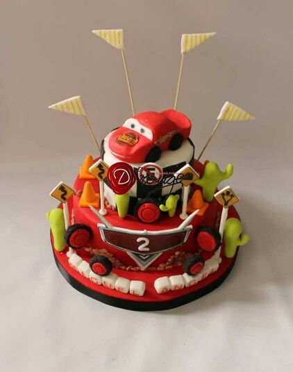 Torta Cars Disney 100 % Comestible.