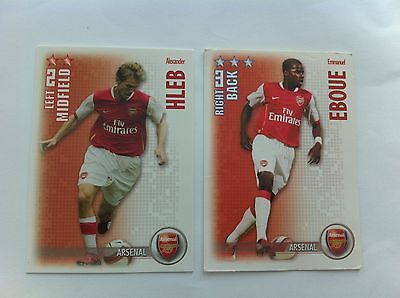 #Shoot out 2006/07 #alexander hleb & emmanuel eboue #arsenal trading cards,  View more on the LINK: http://www.zeppy.io/product/gb/2/191771863748/