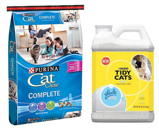 Purina Coupons: Cat Chow 16-Pound Bag, Only $5.47 at Target!