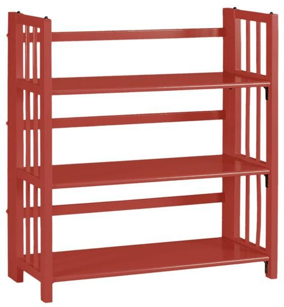 Folding bookcase plans woodworking projects plans for Stacking bookcase plans