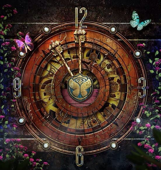 Tomorrowland 2014, the key to happiness, Vlinders ale key gebruiken. Symboliek
