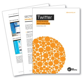 Twitter Best Practice Guide - from @B2B Marketing #guide #tips #Twitter