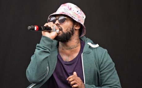 Schoolboy Q: rapped, 'Brought the gangsters back to bucket hat, how real is that?' Photograph: Ollie Millington/Redferns via Getty Images