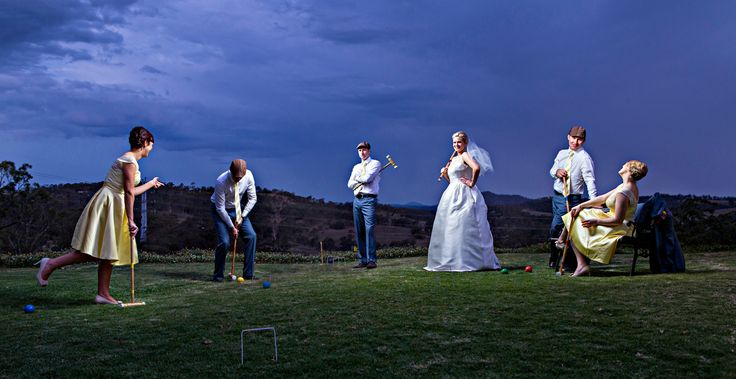 Croquet Uber style - Salt Studios  Toowoomba Wedding and Commercial Photography
