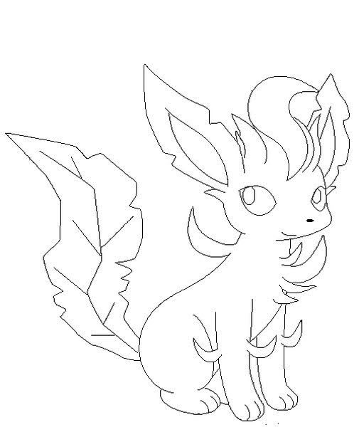 Leafeon Coloring Pages Pokemon Coloring Pages Coloring Pages Pokemon Coloring