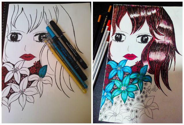 Sketch - That Maroon Haired Girl #MyFriendAlexa - Destiny's Child