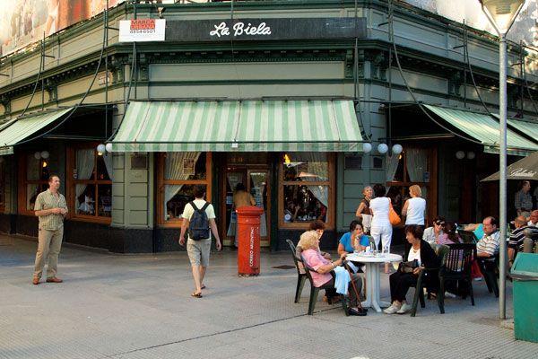 Recoleta's La Biela café, BA