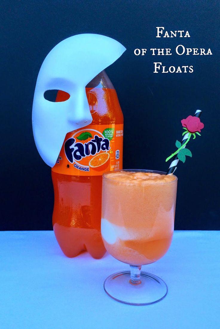 Fanta of the Opera - A Dramatic Halloween Beverage Bar