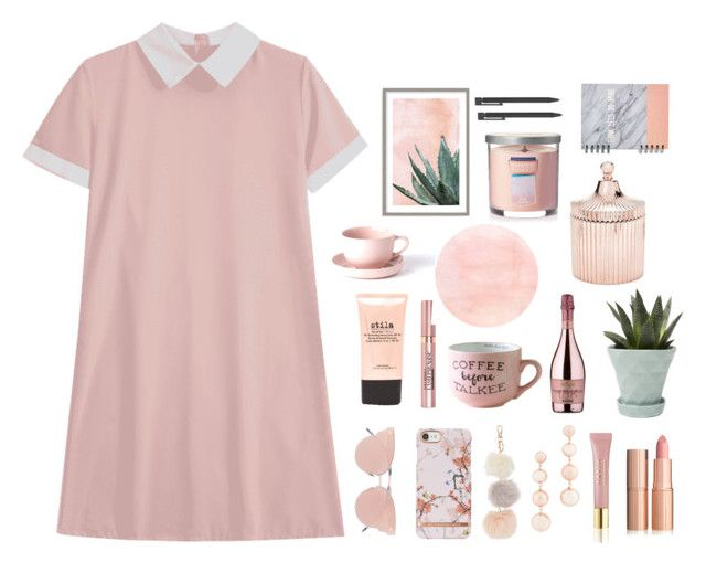 """""""Untitled #3"""" by adelxk ❤ liked on Polyvore featuring So.Ya, Rebecca Minkoff, AERIN, Stila, L'Oréal Paris, SENSI, Chive, Art Addiction, Saks Fifth Avenue and Yankee Candle"""