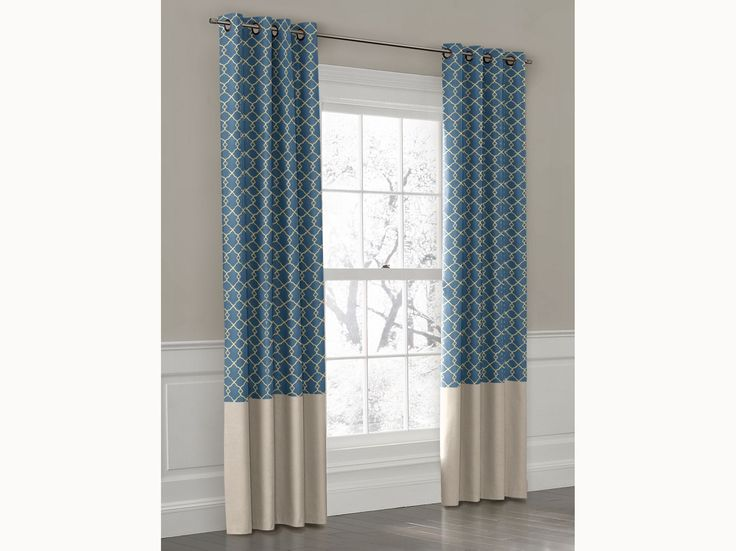 Curtains Ideas colorblock curtains : Colorblock Curtains - Curtains Design Gallery
