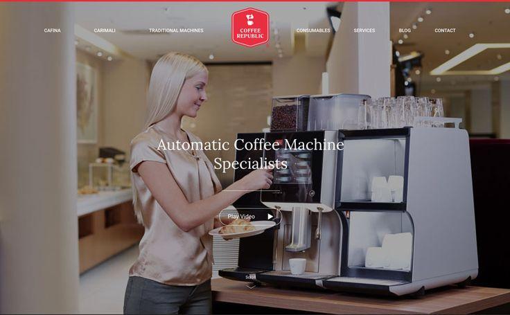 New Design: Coffee Republic