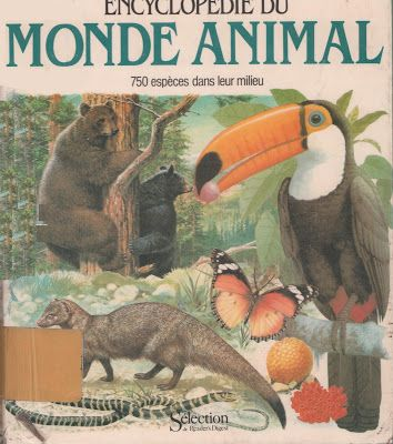Invertébrés + intro + index (Encyclopédie du monde animal, 1980)