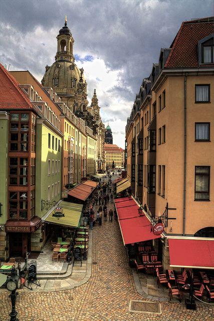 In der Altstadt von #Dresden
