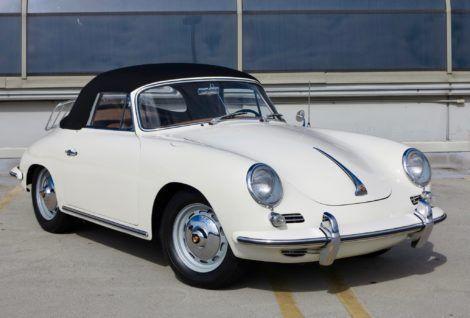 1962 Porsche 356B Cabriolet