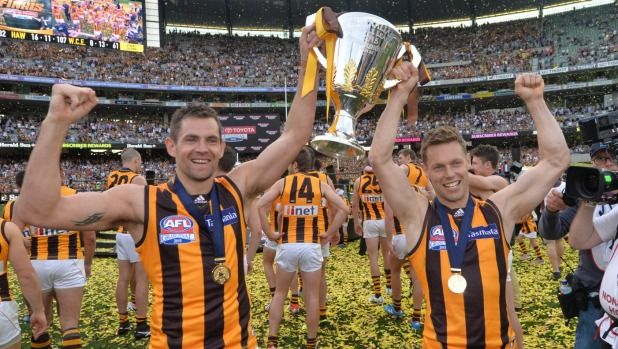 Luke Hodge and Sam Mitchell show of the 2015 Premiership Cup.