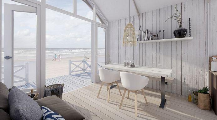 Dít zijn de 4 mooiste huisjes om te huren aan Nederlandse kust