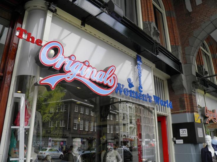 I love a nice bit of signage... Amsterdam