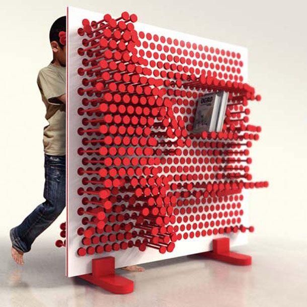 « Pin Press », rangements modulaires pour enfants imaginé par le studio OOO My Design