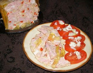 W Mojej Kuchni Lubię.. : szynkowar-z pieczarkami,papryką wieprzowa wędlina....