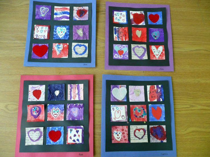 that artist woman: Valentine Inchies: Classroom Results