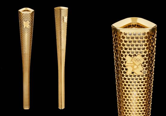 The London Olympic torch wins the Design of the Year award 2012