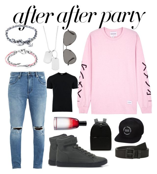 """After After Party Style"" by styleandexperienceco ❤ liked on Polyvore featuring Neuw denim, Variations, Anchor & Crew, Armani Jeans, Christian Dior, Calvin Klein, Lacoste, Swell, Dolce&Gabbana and Vilebrequin"