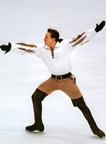 Philippe Candeloro - patineur sur glace français