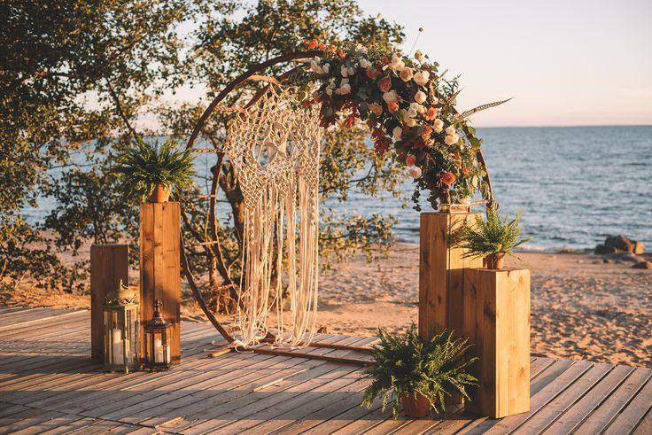 wedding, style boho, wedding decor, decor, wedding decoration, reception area, arch to registration, marriage registration, registration table, круглая арка, арка для регистрации.