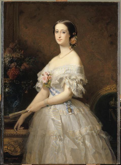 Eugénie de Montijo, impératrice des Français (1826-1920) Dubufe Edouard-Louis (1819-1883)