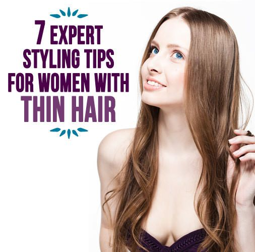 hair styling tips 7 expert styling tips for with thin hair hair tips 1923