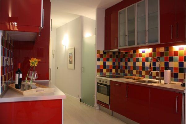 Cocina del apartamento Setenta y 1