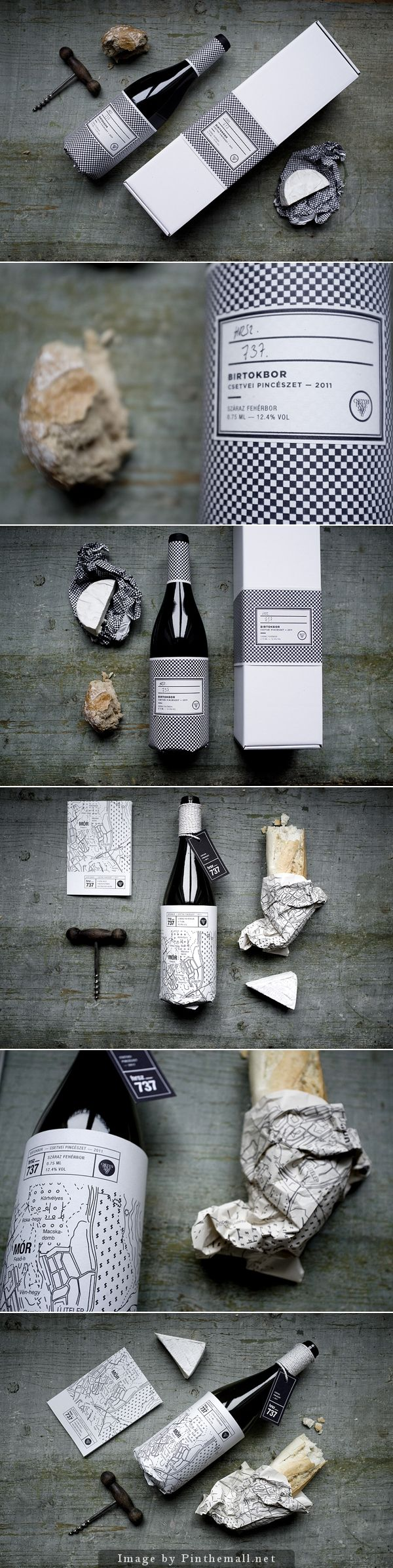 Hrsz. 737 wine label design for Csetvei Winery concept #packaging curated by Packaging Diva PD created via https://www.behance.net/gallery/8079491/Hrsz-737