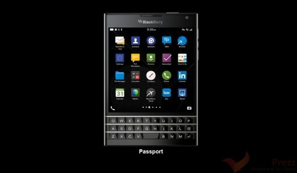BlackBerry Passport goes on Sale in the US, UK and Canada Today | Tech Prezz