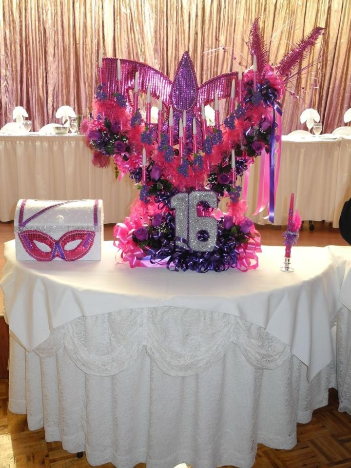 Masquerade Candle Holder Alexis Sweet 16 Masquerade