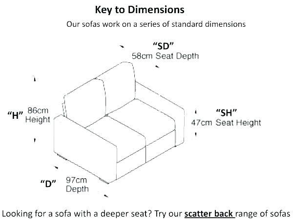Standard Sofa Dimensions In Meters Wallpaperall Sofa Dimension Love Seat Sofa