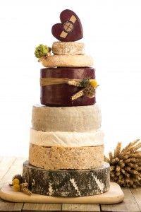 Apley Farm, Shropshire, Wedding Cheese Cake