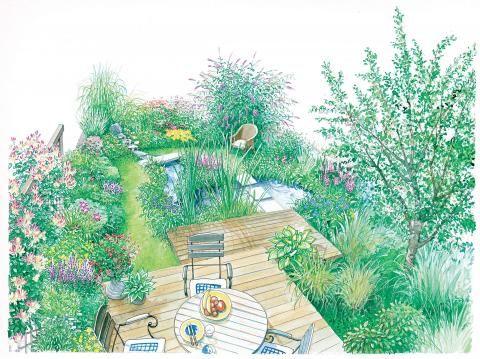1287 best pflegeleichter kleiner garten images on pinterest home and garden landscaping ideas. Black Bedroom Furniture Sets. Home Design Ideas