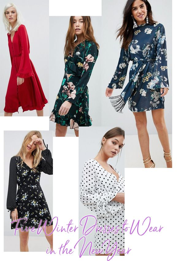 Now Christmas is over and done with and now 4 days into the new year and January blues have settled in. I thought I would cheer you up by showing you five winter dresses to wear this season.