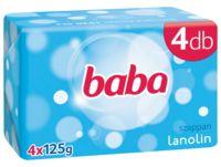 Baba lanolinos szappan 4-es csomag