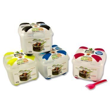 NUDE FOOD SALAD BOX WFORK