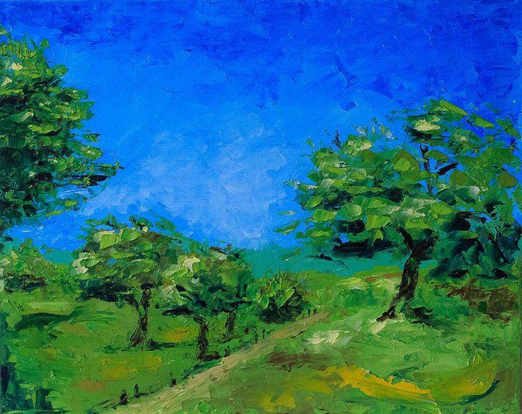 Chuprovart-landscape-summer Oil Painting Reproduction unknown master (24*30) oil/canvas, 2015) Копия картины c репродукции неизвестного автора 24*30, холст/масло, 2015г © chuprovart  // = // = // = // = // = // = // = // = // = // = // = // = В частной коллекции = Private collection
