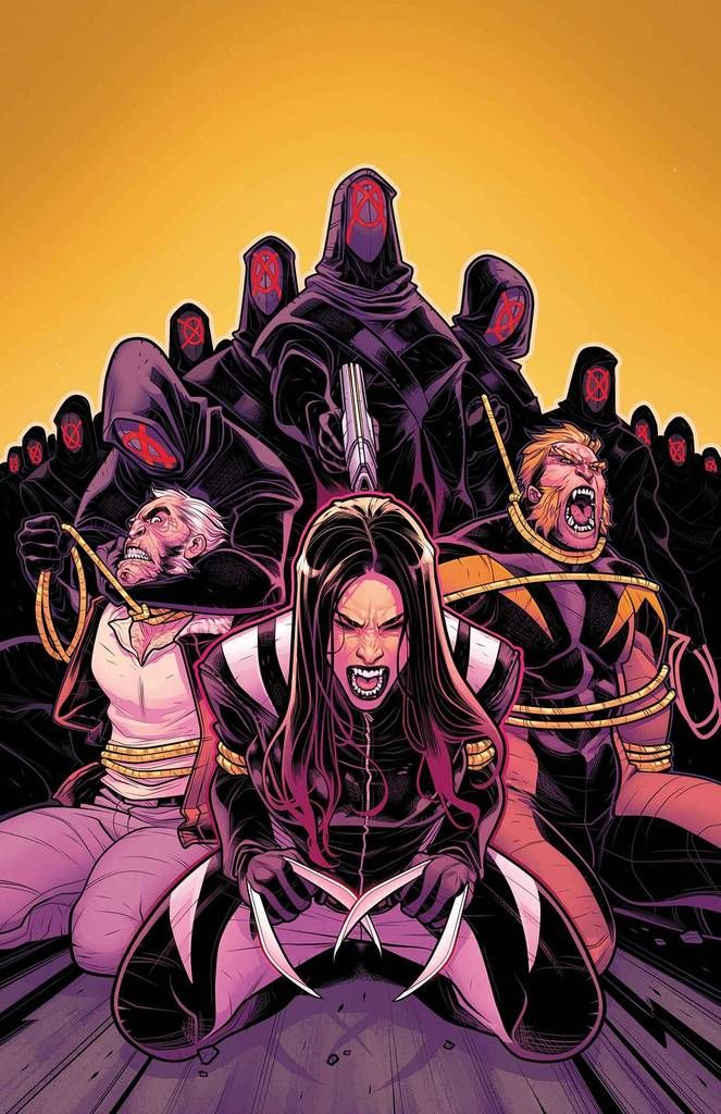 ALL NEW WOLVERINE #29 LEG STREET DATE: 1/17/2018 (W) Tom Taylor (A) Juan Cabal (CA) Elizabeth Torque ORPHANS OF X Part 5•  The blade of Muramasa has been reforg