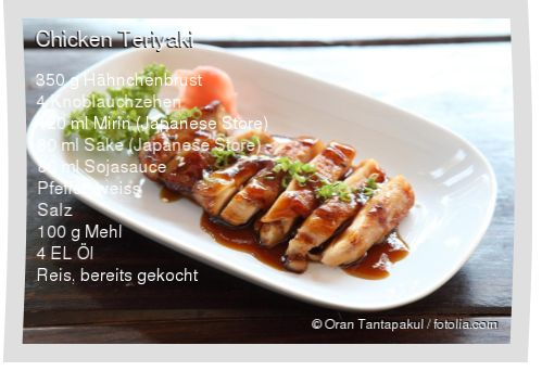 Leckeres Chicken Teriyaki Rezept mit einfacher Schritt-für-Schritt-Anleitung: Fleisch klopfen (mit Klarsichtfolie bedecken und zart plattieren, damit es ...