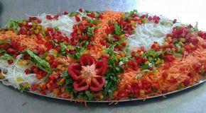 saladas decoradas de legumes - Pesquisa Google
