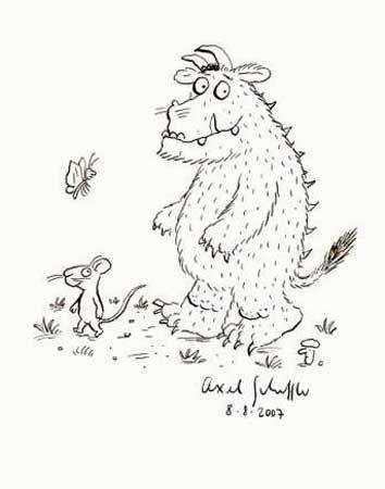 angol feladatok mondkk sznezk the gruffalo song julia donaldson - The Gruffalo Colouring Pages